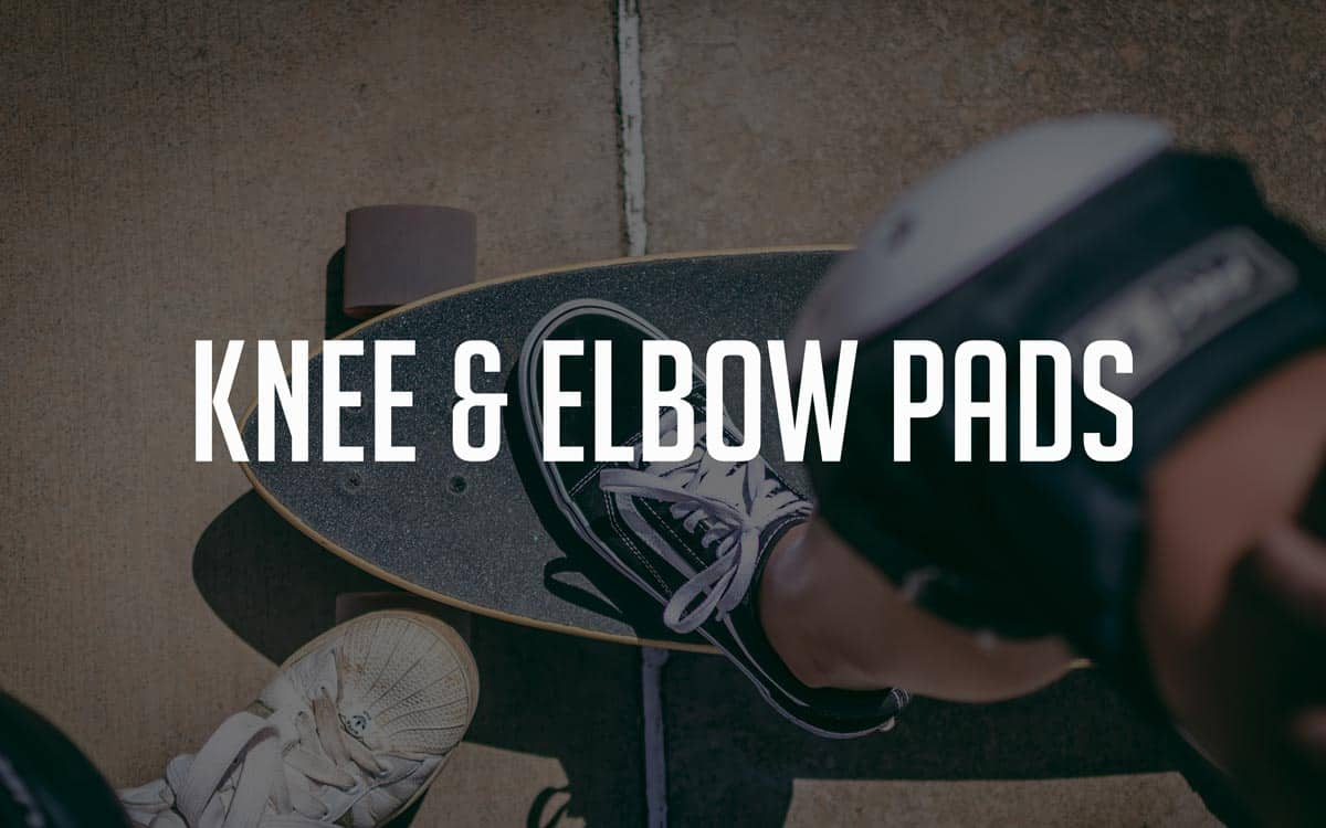 best knee and elbow pads for electric skateboarding