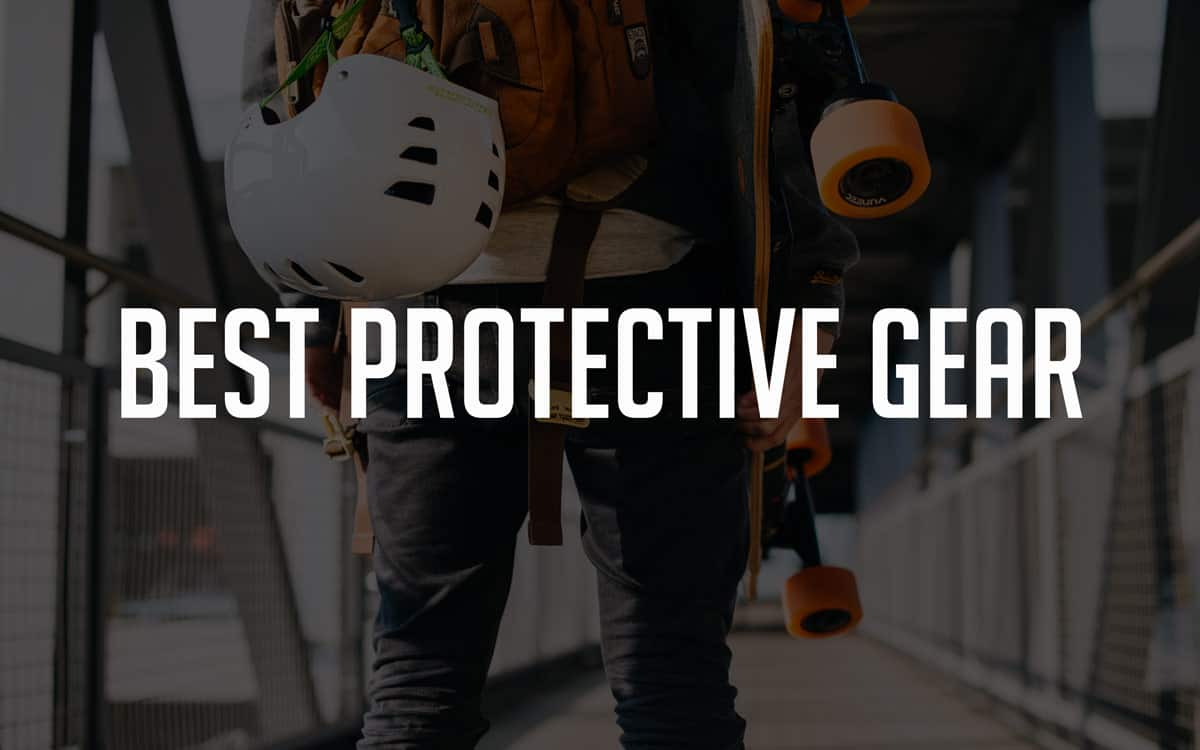 best protective and safety gear for electric skateboarding