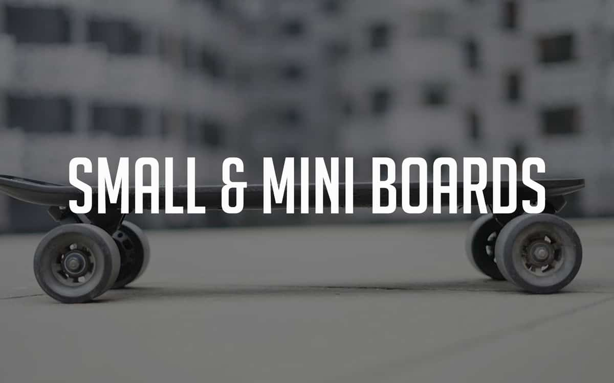 best small and mini electric skateboards