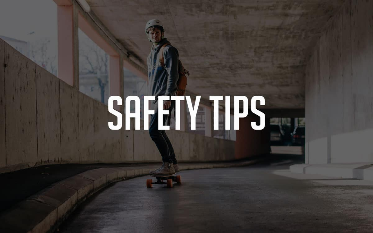 electric skateboard safety tips