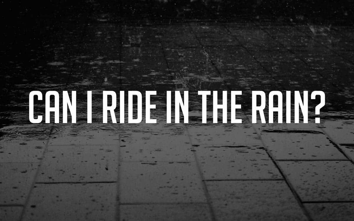 Are electric skateboards waterproof? - Can I ride them in the rain?