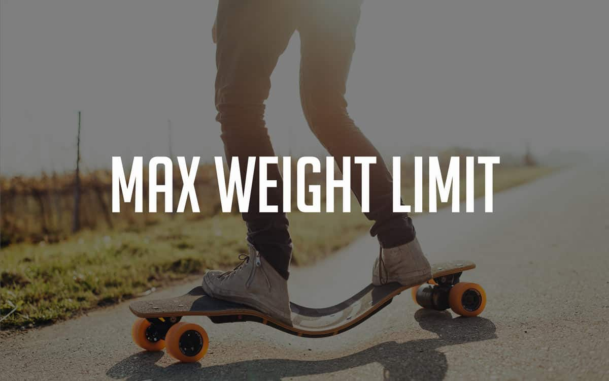 Electric Skateboard Weight Limit - Maximum Load Capacities Compared