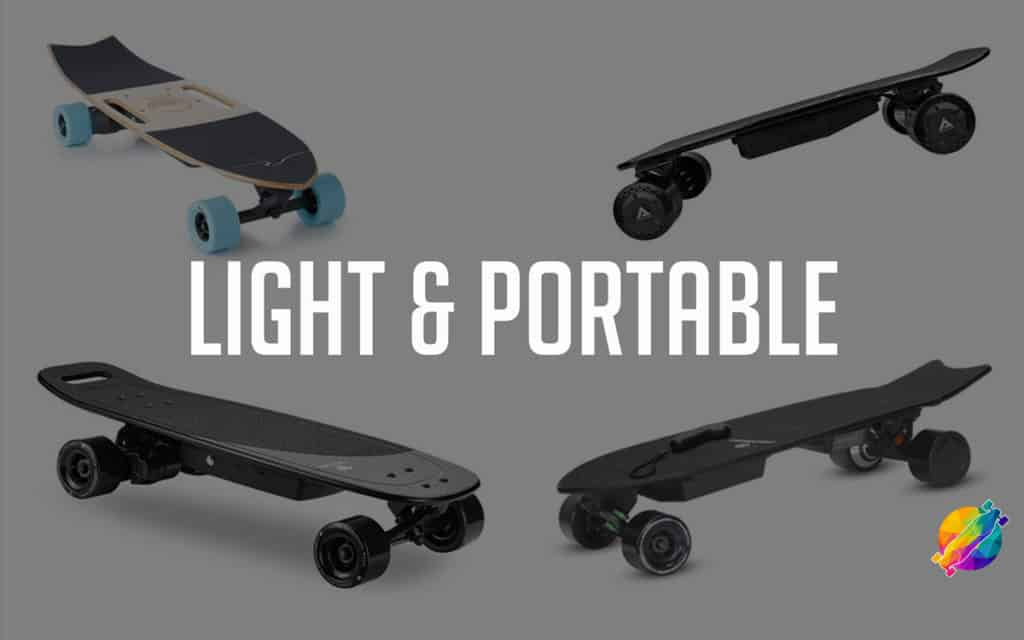 best lightweight electric skateboards