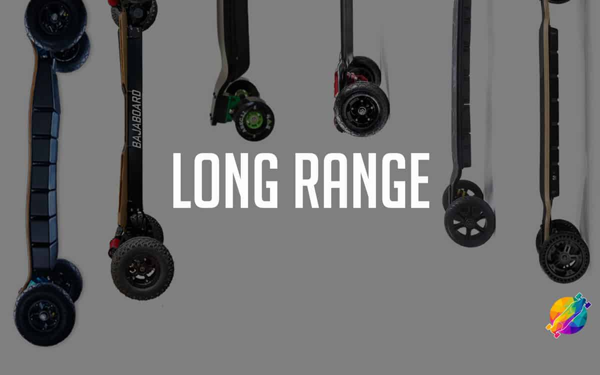 Best long range electric skateboards