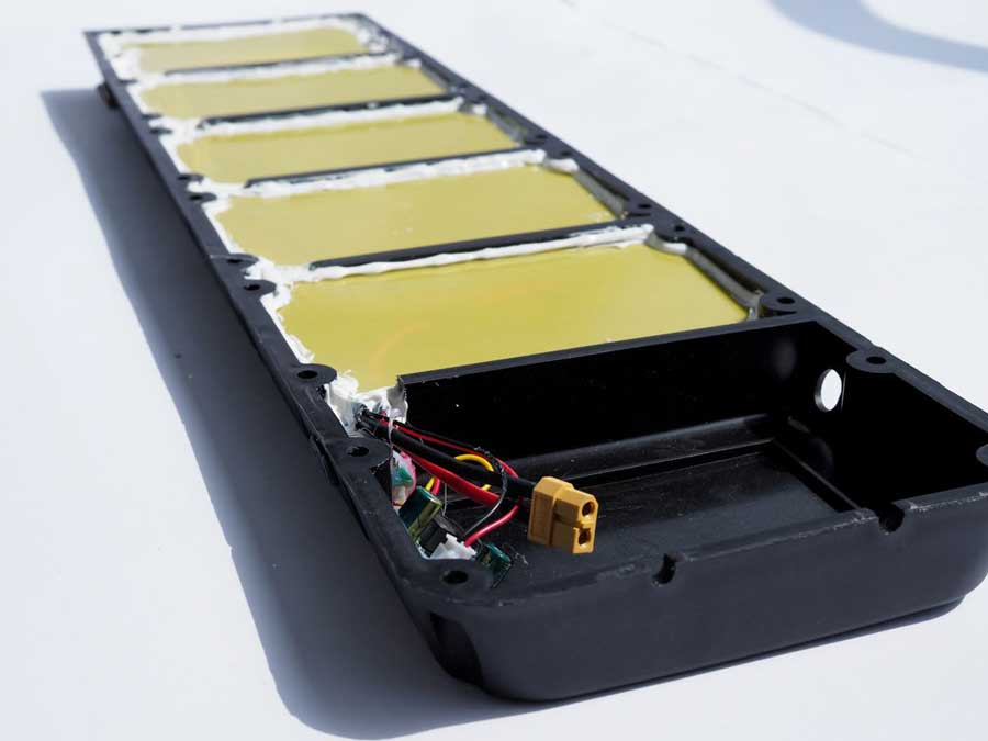 electric skateboard battery