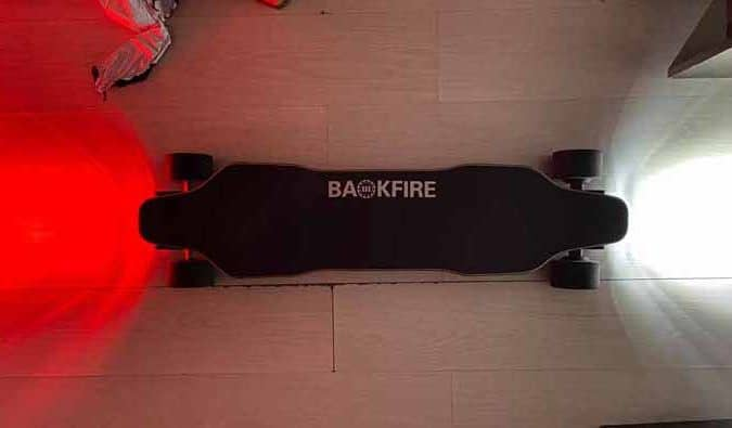 Backfire G2 Black with lights