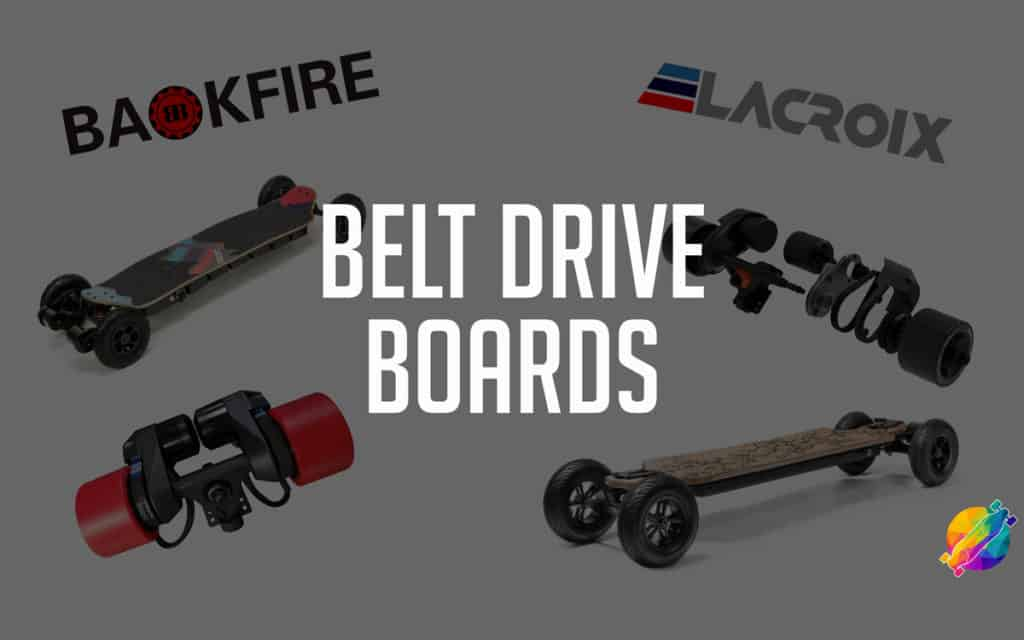 Best Belt Drive Electric Skateboards