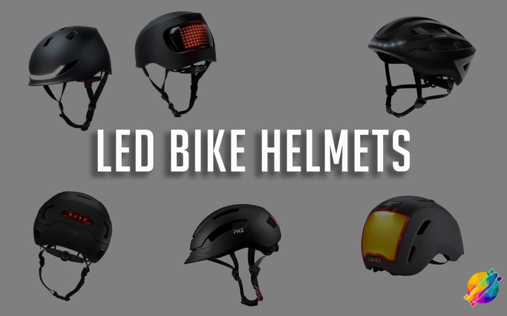 Best Bike Helmets with integrated LED Lights