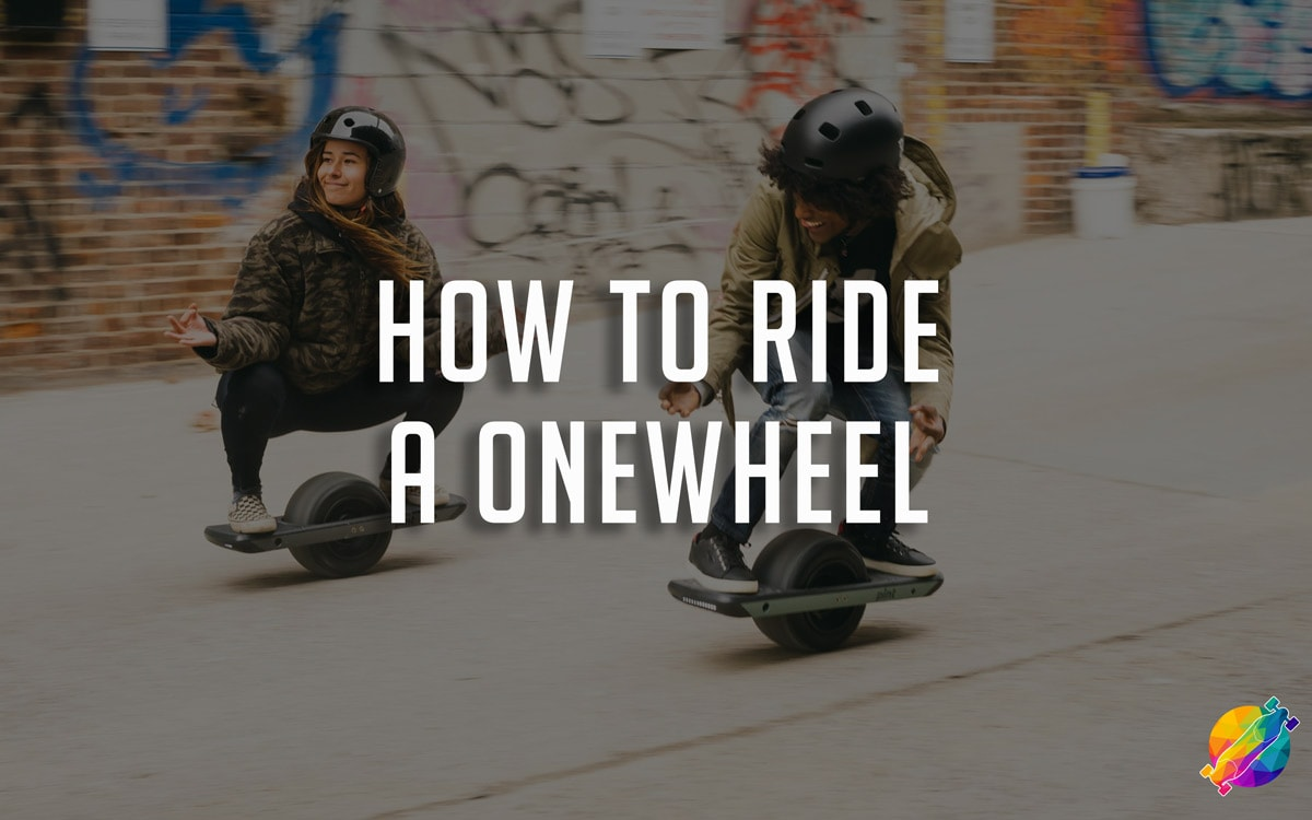 how to ride a onewheel