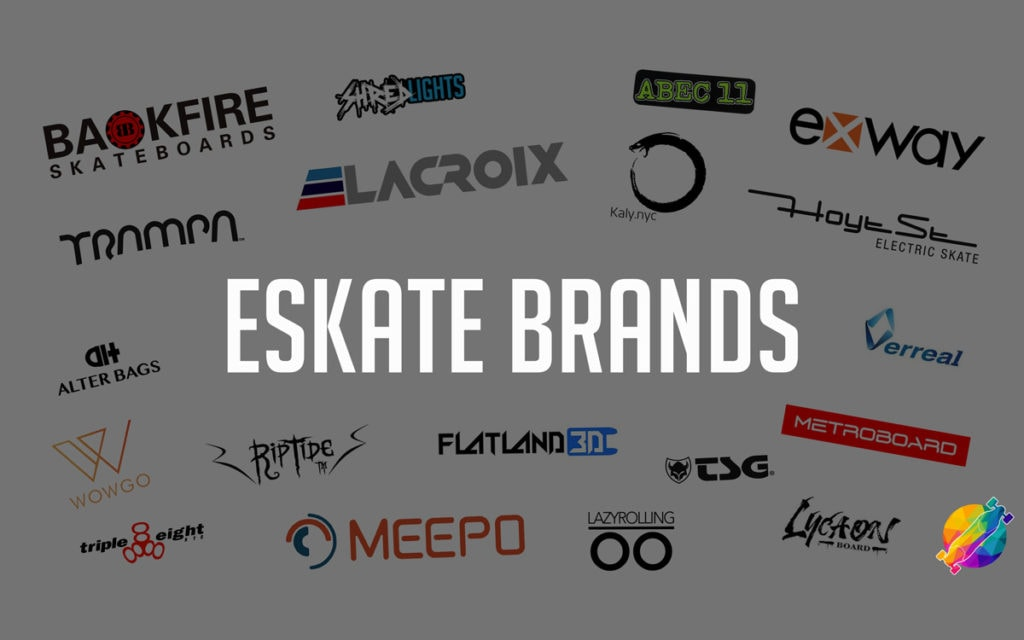 electric skateboard brands and companies