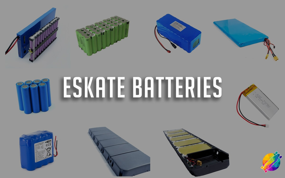 Electric Skateboard Batteries