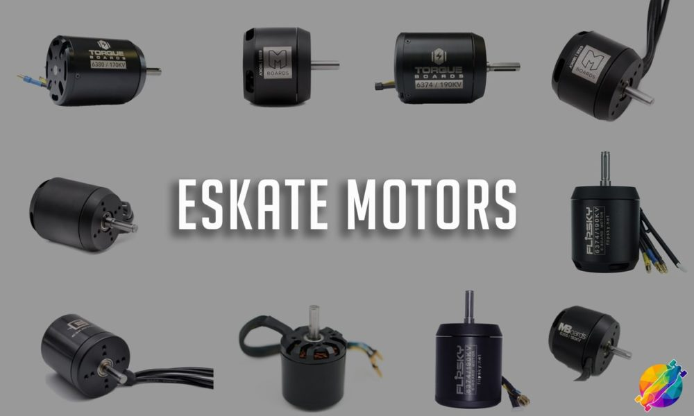 Electric Skateboard Motors [The Complete Guide]