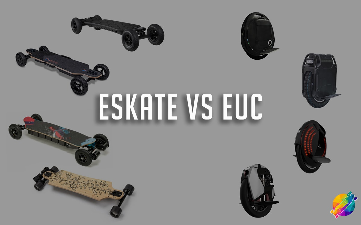 electric skatebaords vs electric unicycles