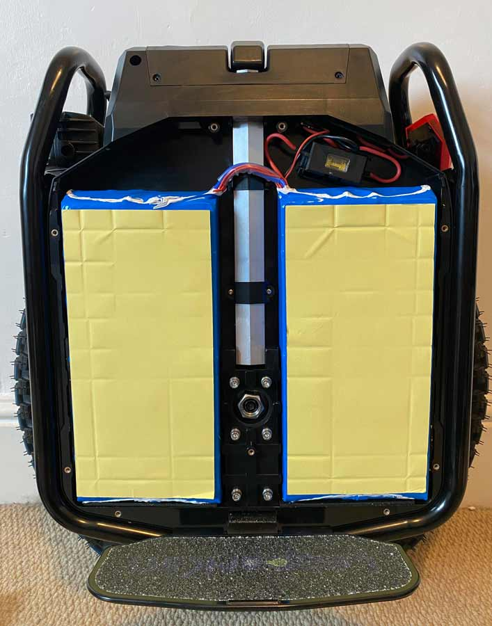 Battery of Electric Unicycle