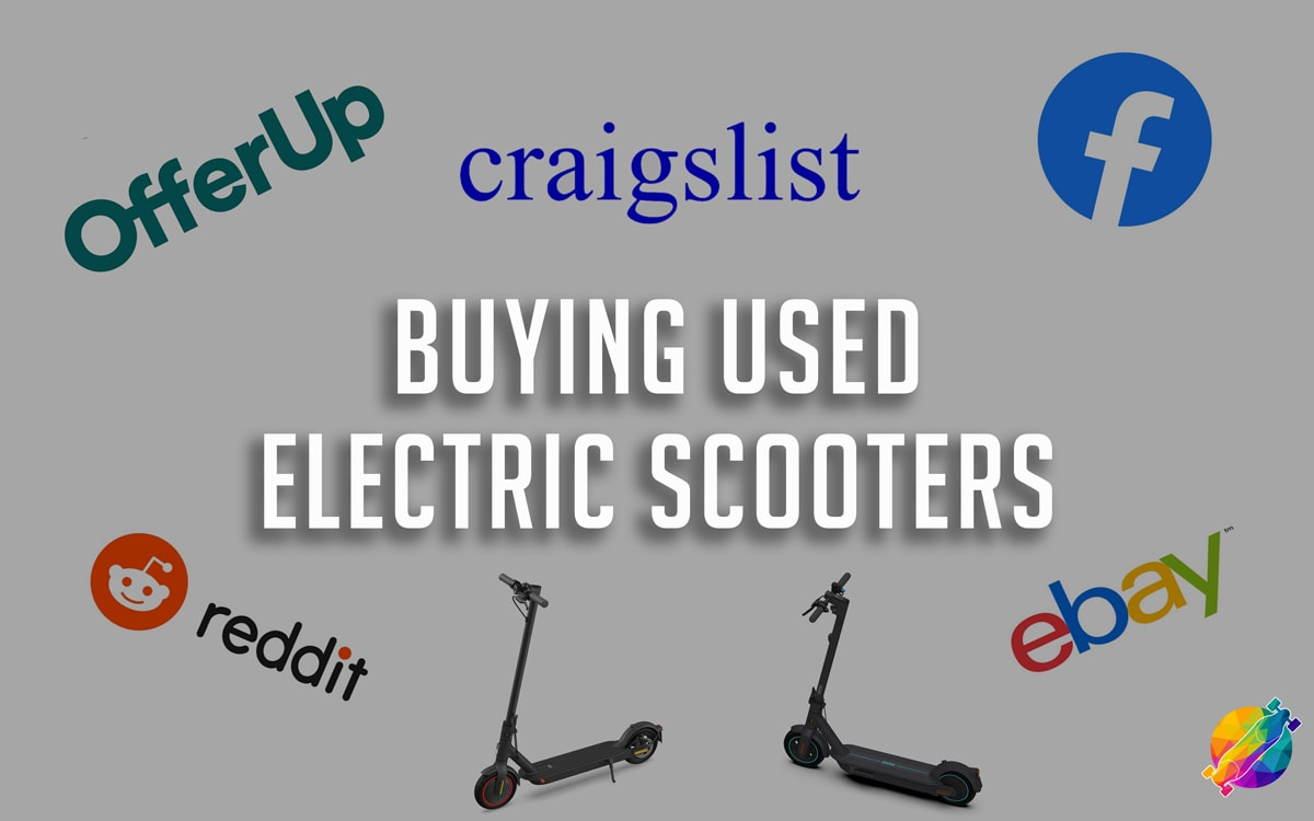 how to buy a used a electric scooter