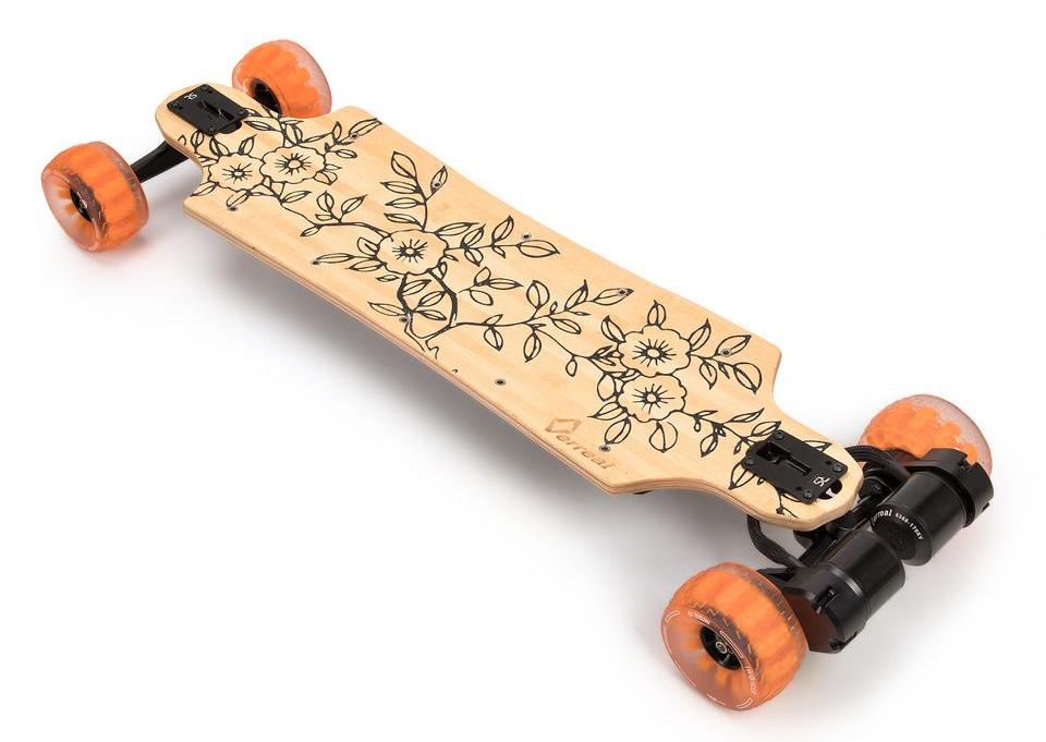 Verreal RS with Cloudwheels electric skateboard