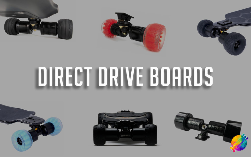 direct drive electric skateboards