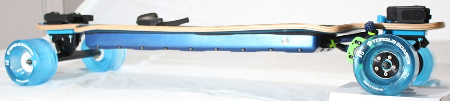 electric skateboard DIY finished board sideview