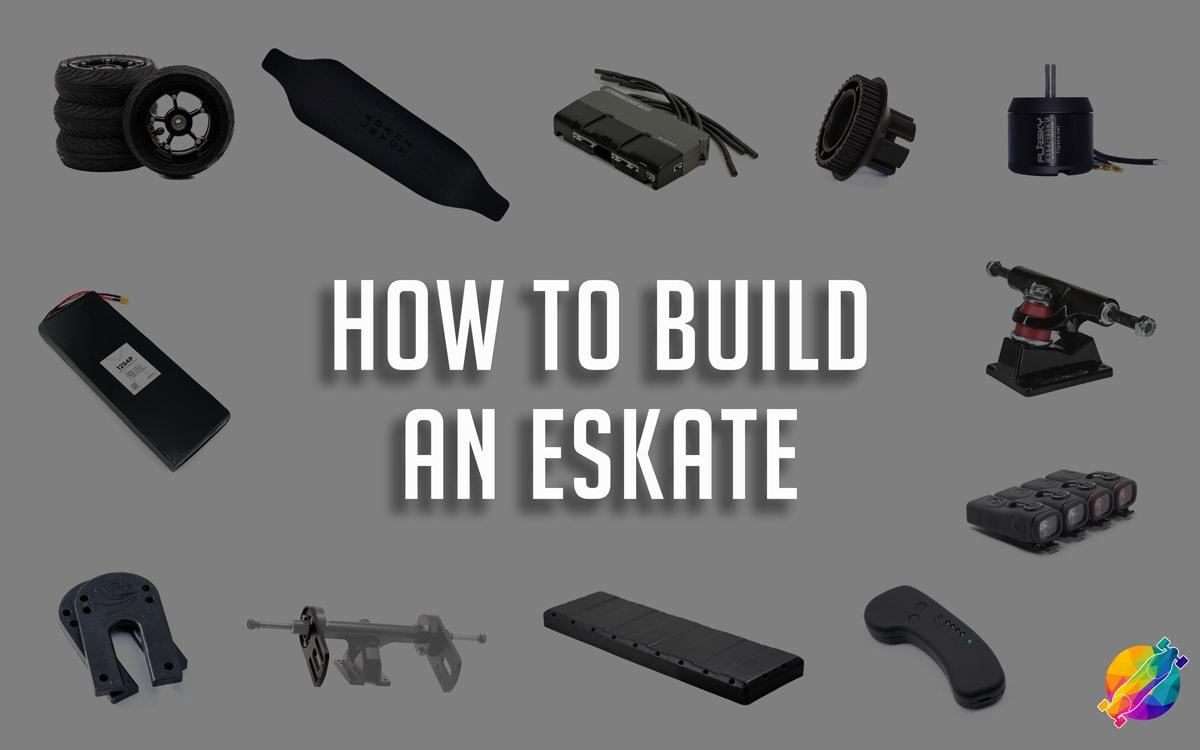 electric skateboard diy - how to build an electric skateboard