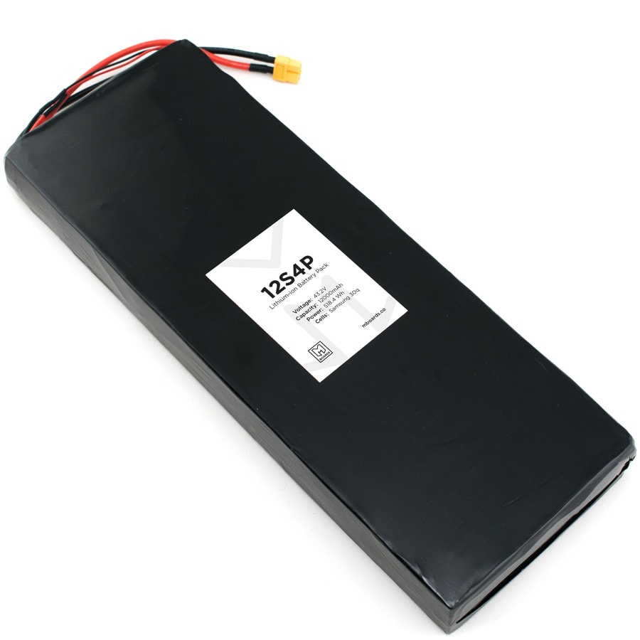 mboards 12S4P electric skateboard battery